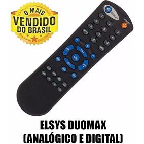 Controle Remoto Elsys Duomax (analógico E Digital) 1º Linha