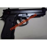 Pistola De Fogueo Por Cañon 9 Mm Beretta 92