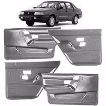 Kit 4 Forros Portas Santana 1991/1998 4 Portas Cinza P/treco