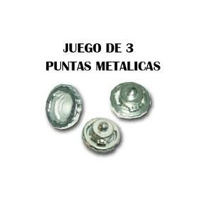Beyblade Puntas Metalicas Para Tus Trompos Set De 3 $60