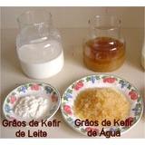 Kefir De Água E Açucar Mascavo+kefir De Leite