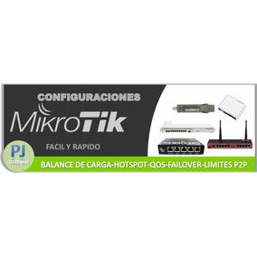 Configuracion Completa Wisp Profesional! Mikrotik
