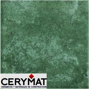 Rústico Verde Piso 30x30 Cerámica Cortines