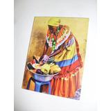 Cuadros Arte Negras Africanas Reproduccion Pinturas 15x20cm