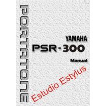 Manual Do Teclado Yamaha Psr 300 Em Português