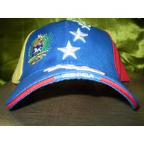 Gorra Tricolor 8 Original Al Mayor Dice Venezuela En Visera