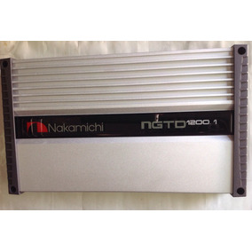 Amplificador Nakamichi Ngtd1200.1 Peak Power 8000 W Gris