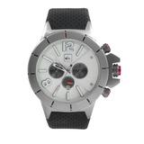 Relógio Masculino Quiksilver Kaspian Ip Black/silver