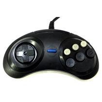 Controle Manete Sega Mega Drive 9 Pinos Preto A6883