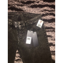 Pantalón Guess Original Negro Skinny Stretch