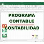 Programa Plantilla Excel Contabilidad