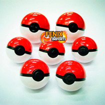 10 Pokebolas Com Miniatura Pokemon E Mini-cards Cada