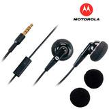 Auriculares Manos Libres Motorola Moto Z G4 G3 G2 G X2 X E2
