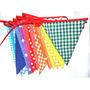 Banderines De Tela Decoracion Eventos Cumpleaños