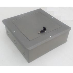 Caja Metálica Registro Telefónico 30x30x13cm Cierre De Chapa
