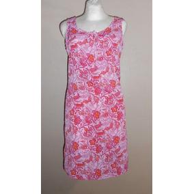 No Boundaries! Fresco Vestido Rosa, Diseño De Flores, M