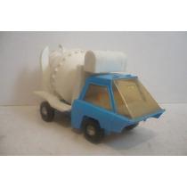 Camion Revolvedora - Camioncito De Juguete Antiguo Escala