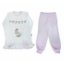 Pijama Infantil Malha Menina - Marca Nanar