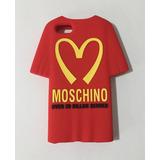 Capa Camisa Vermelha Moschino Iphone 5 5s - Emborrachada