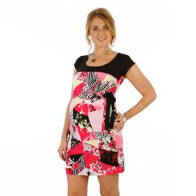 Vestido Para Embarazada De Seda Fría - Talle 2