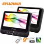 Reproductor Dvd 9 Sylvania Con Bateria/sd/usb 2 Peliculas
