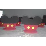 Enfeite Centro De Mesa Mickey Em Eva 20 Unidades