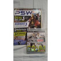 Pes 2012 - Ps3 - Original + Revista De Brinde !