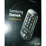 Telefono Celular Samsung Genoa Gt-c3510 Camara Radio Fm Caja
