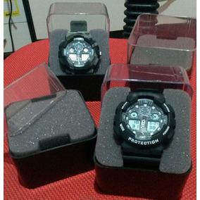 10 Unidades Caixa De Acrilico C/ Espuma P Relógio