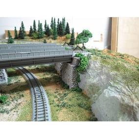 Apoio De Ponte Para Maquetes - Escala 1/160 N