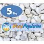 5 Kg Dolomita Seixo Pedras Para Jardins, Decoração, Vasos Md