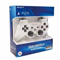Control Ps3 Inalambrico Dualshock Nuevo Original Blanco