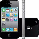 Apple Iphone 4s 16gb Original Anatel Preto