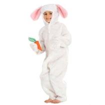 Disfraz Niño Traje Del Conejo De Conejito Para Los Niños De