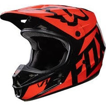 Casco Fox V1 Race Naranja 2017 Motocross Atv Moto Talla Xl