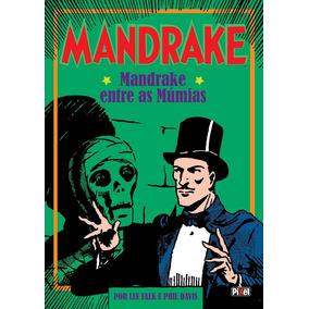 Hq Encadernada Mandrake Entre As Múmias Capa Mole Falk Pixel
