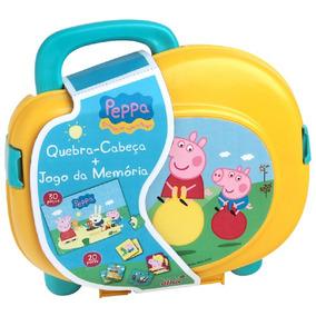 Quebra-cabeça + Jogo Da Memória - Peppa Pig - Elka