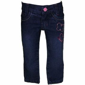 Calça Jeans Detalhe Borboletas - Chicote Jeans