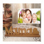 Portaretrato Para El Día De Las Madres En Mdf..mamá Letras
