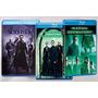 Blu-ray Matrix - Coleção Triologia - Original Semi-novo