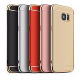 Capa Capinha Proteção 3em1 Celular Samsung S7 Edge+pelicula