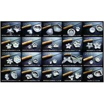 Kit Frisadores Eva Com 22 Pecas Para Artesanatos Aluminio