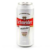 Cerveza Schneider Lata X 473 Cc X U.