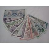 Set De 10 Billetes Antiguos De Colombia