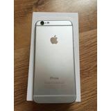 Iphone 6 Silver 4g Lte 10 Meses De Uso