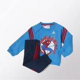 Conjunto Sudadera Para Bebés Spiderman - adidas Marvel