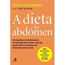 Livro A Dieta Do Abdomen David Zinczenko Low Carb