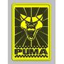 Patch Tag Bordado Puma 3 10x7 Termocolante