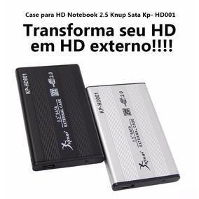 Case Sata 2,5 Para Notebook Usb 2.0 Kp-hd001 Hd Externo