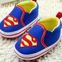 Sapatinho De Bebê Super-homem Importado Pronta Entrega